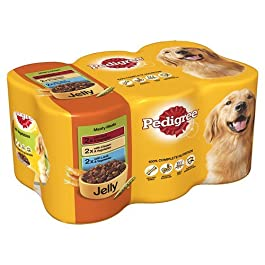 Pedigree Dog Food Meaty Meals in Jelly, 6 x 400g