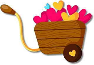 Bhai Please Love Basket Wooden Fridge Magnet Couple Gift and Decoration
