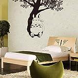 Decoración Del Hogar Mi Vecino Totoro Wall Totoro Under The Tree Vinilo Adhesivo De Pared Kids Room Wallpaper Vinyl Totoro Mural 79 * 56Cm