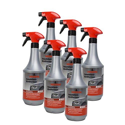 Preisvergleich Produktbild Nigrin 6X 74084 Insekten-Entferner 1 Liter