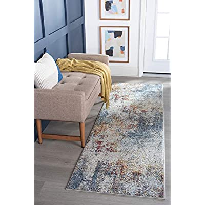 Amazon - Save 15%: Papyrus Cream 2×8 Runner Area Rug for Hallway, Walkway, Entryway, or Fo…