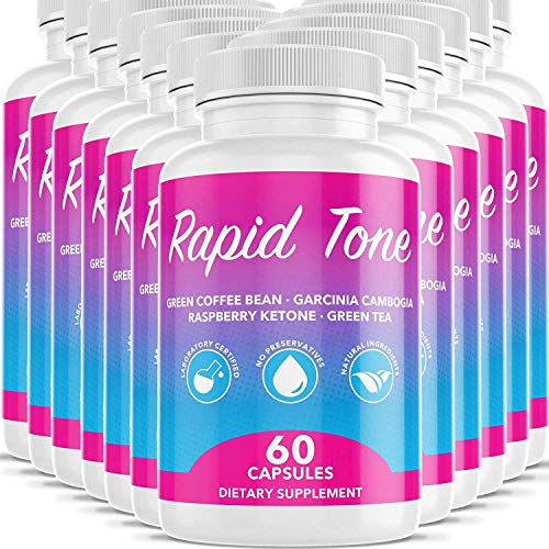 Rapid Tone Weight Loss Pills Supplement - Burn Fat Quicker - Carb Blocker, Appetite Suppressant, Fat...