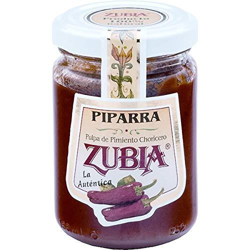 Zubia - Pulpa de Pimiento Choricero - Especial para Salsa Vizcaína, Estofados, Sopas , Guisos- Producto 100% Natural - 125 Gramos