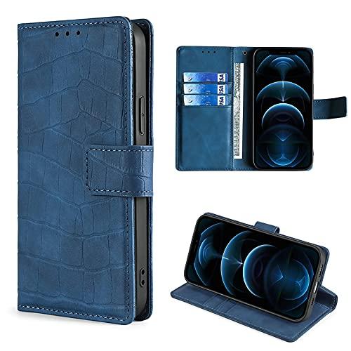 HUAYIJIE GKFGEY Flip Hülle für Elephone S3 Lite Hülle Handy Ständer Cover Blau