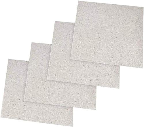 Cozywind Mica Plaques Feuille de Mica Universelle Pour Four à Micro-ondes (13 x 13 cm)