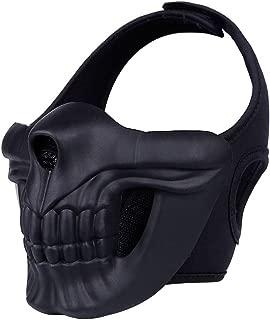 Anself WoSporT WST Mask System Skeleton Helmet Outdoor Helmets Black