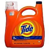 Tide Tide HE Turbo Clean Liquid Laundry Detergent, Original, 96 Loads