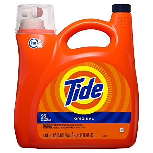 Tide Tide HE Turbo Clean Liquid Laundry Detergent Original 96 Loads