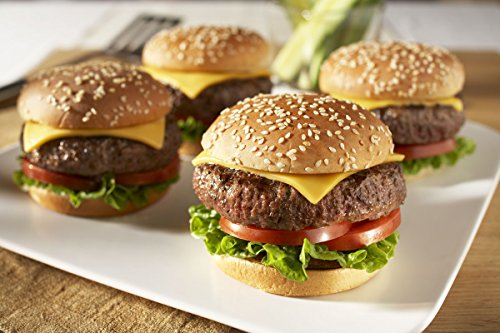 24 Angus Beef Steak Burgers (4 oz.) - USDA Choice Angus Steakburgers for BBQ Grill Party - Gourmet Beef Patties Made from Flash Frozen Angus Beef - Burger Grill Gift Set for Birthdays or Holidays