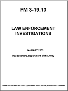 FM 3-19.13 Law Enforcement Investigations