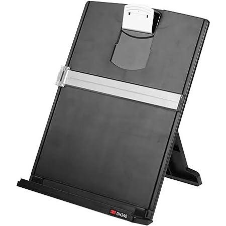 MaxGear Desktop Document Holder Copy Holders with 6 Adjustable Positions Foldable Paper Holder Metal Mesh Paper Stand Typing Stands for Desk//Paper Clip Holder Bundle of 2 Sets