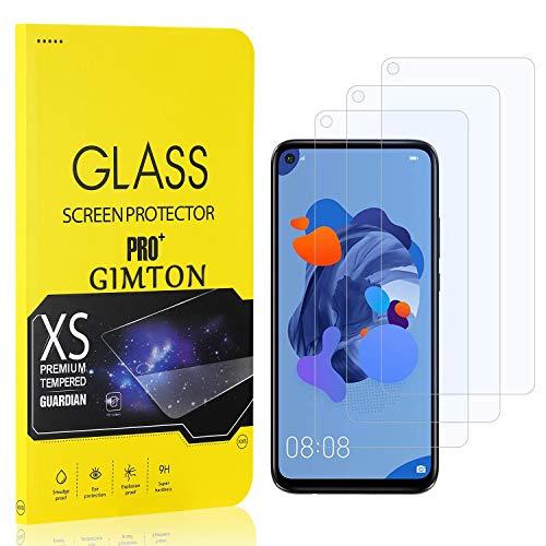GIMTON Displayschutzfolie für Huawei Mate 30 Lite, 9H Härte, Anti Bläschen Displayschutz Schutzfolie für Huawei Mate 30 Lite, Einfach Installieren, 3 Stück