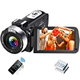 Videocamera Videocamere Full HD 1080P 30FPS 24.0 MP Videocamere Vlogging IR Visione notturna 3.0...