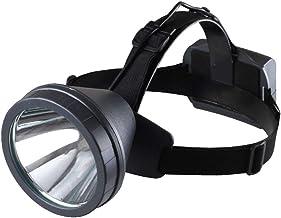 XUANLAN Glare Rechargeable Long-Range Waterproof Outdoor Fishing Headhunter Flashlight Yellow Light T6 Headlights (Color : Yellow Light)
