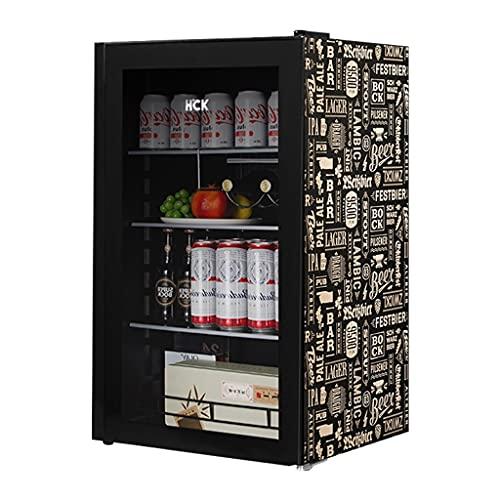 Bodega de Vino Independiente, refrigerador de Vino, refrigerador de Vino, Barra de Hielo refrigerada controlada a Temperatura, Puerta de Cristal Templado Transparente
