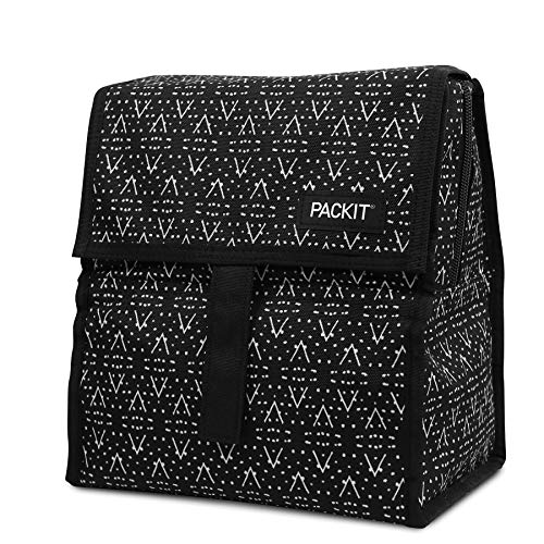 PackIt Freezable Lunch Bag with Zip Closure Desert Plains