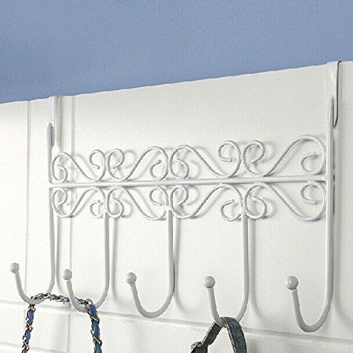 Inovey Euro Style IJzeren Kunst Achterdeur Hanger Haak Met 5 Haak 3 Kleuren