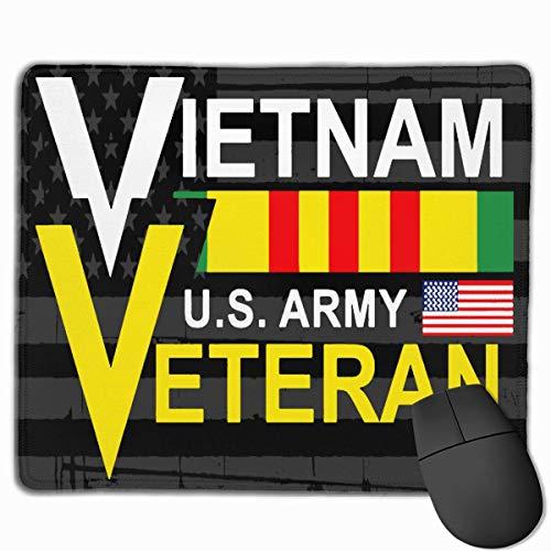 Vietnam US Army Veteran Mousepads Rutschfeste Gaming-Mausunterlage Mousepad
