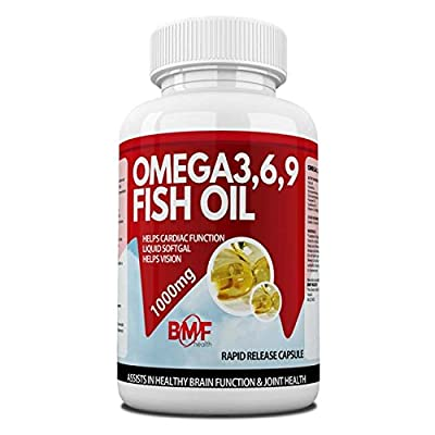 BMF Health High Strength Omega 3,6,9 Essential Fatty Acids 1000mg