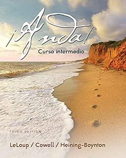 MyLab Spanish with Pearson eText -- Access Card -- for Anda: curso intermedio (multi-semester access) (3rd Edition)