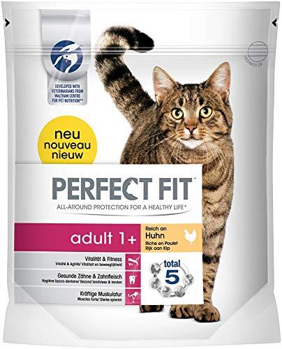 Perfect Fit Cat Trocken - Adult 1 plus reich an Huhn, 750 g