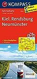 KOMPASS Fahrradkarte Kiel - Rendsburg - Neumünster: Fahrradkarte. GPS-genau. 1:70000 (KOMPASS-Fahrradkarten Deutschland, Band 3004)