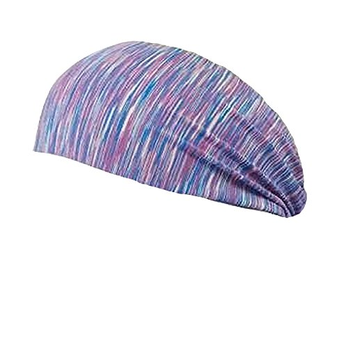 Bondi Band Static Mauve/Blue Moisture Wicking 4