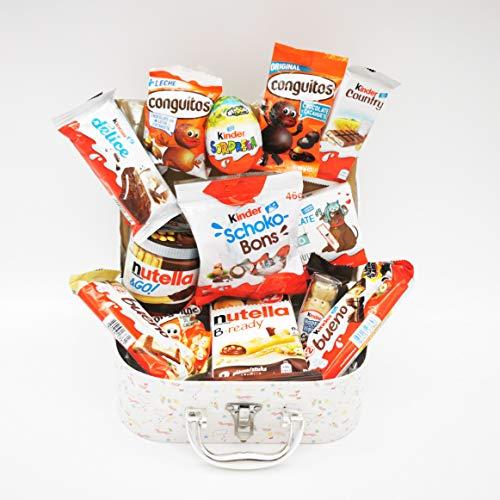 Baúl Regalo con chocolates Kinder