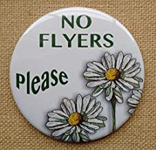 no flyers please