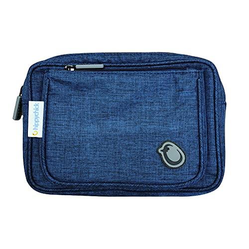 Hippychick Bolsa de accesorios Hipseat   Uso con el portabebés Hipseat para guardar la espalda (Denim)