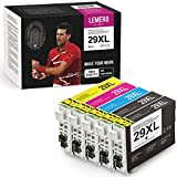 5 Pack LEMERO UEXPECT 29XL Compatible Epson 29XL 29 T2991 T29XL T29 Cartucho de Tinta para Epson XP 342/xp 442/xp 235/xp 247/xp 255/xp332/xp 352/xp 245/xp 452/xp432/xp 355/xp 455/xp 445/xp-345/xp 257