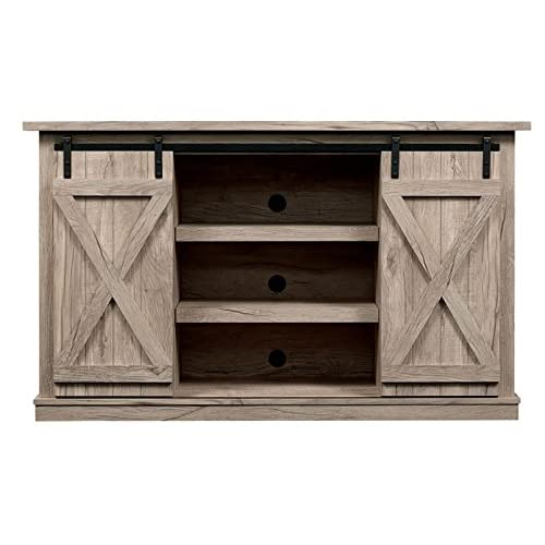 Tv Stand With Cabinet Doors Amazon Com