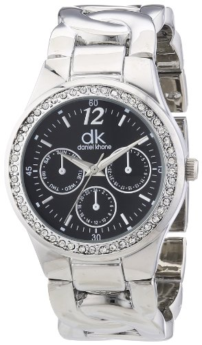 dk daniel khone Damen-Armbanduhr Woman Analog Quarz Alloy DKLA-90668-21M