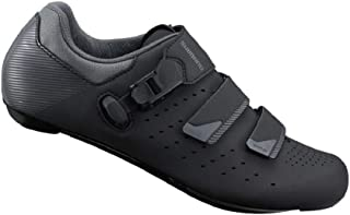 SHIMANO SH-RP301 LSG Series High Performance On Road Cycling Bicycle Shoes; Black; 45