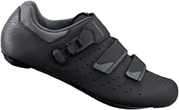 SHIMANO SH-RP301 LSG Series High Performance On Road Cycling Bicycle Shoes; Black; 44