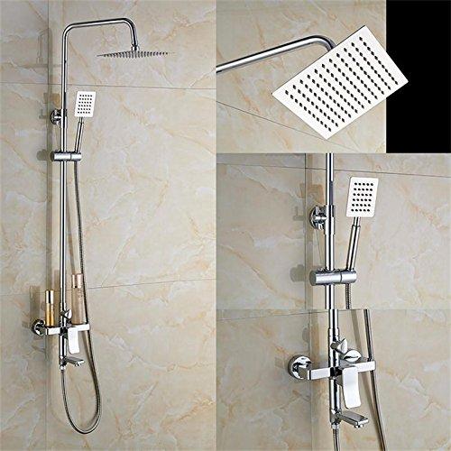 Luxurious shower Gute Qualität drehen Whirlpool Füller Badewanne Brause Armatur Wasserhahn Wall Mount 8
