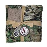 Realtree XTra Green 50'x60' Fleece Sherpa Blanket