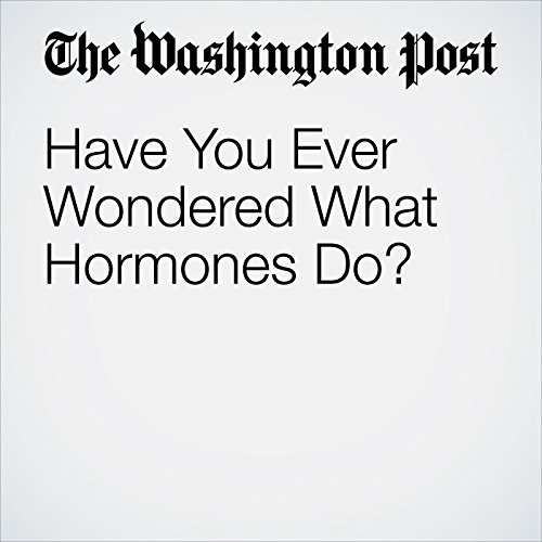 Have You Ever Wondered What Hormones Do? copertina