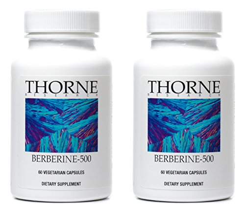THORNE BERBERINE-500 (Pack of 2) 60 capsules each