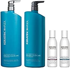 Keratin Complex Color Care Shampoo N Conditioner and Travel Set, 33.8 Ounce