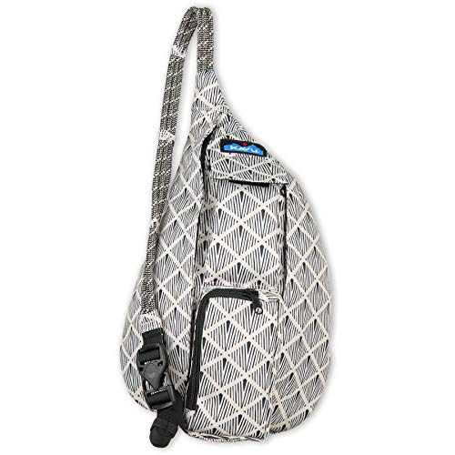 KAVU Mini Rope Sling Bag-Illusion Stencil