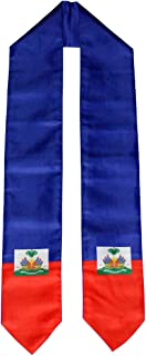 country flag graduation stoles
