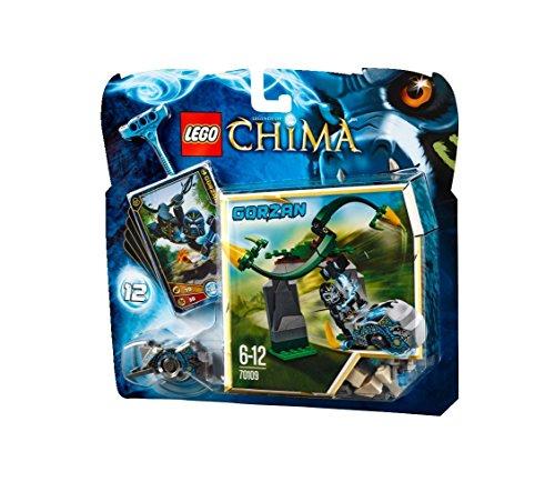 LEGO Chima 70109 - Rampicanti Vorticosi, Gorzan, 6-12 Anni