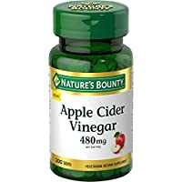 200-Count Nature's Bounty Apple Cider Vinegar Dietary Supplement Tablets