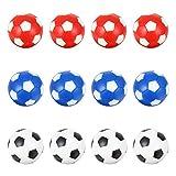 VORCOOL Accesorios de fútbol de Mesa prácticos de Juguete de fútbol de Mesa Profesional de 12 Piezas Outdoor Props
