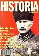 Historia n°502, octobre 1988: Mustapha Kemal -Montmartre au temps du