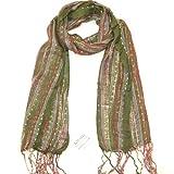 LOVARZI Sciarpa Verde da donna - Signore Pashmine - Perfetta per tutte le stagioni