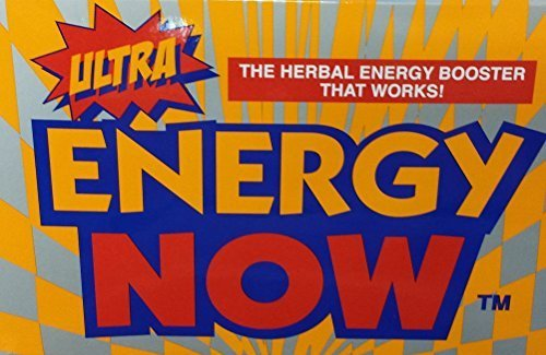 ULTRA ENERGY NOW GINSENG HERBAL SUPPLEMENT 36 PACKETS by Energy Now