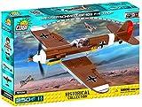 COBI- Jeu de Construction-Messerschmitt Bf-109 F-4 Trop, 5526, Brun/Jaune/Blanc/Gris/Rouge/Noir