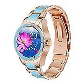 QFSLR Smartwatch, Reloj Inteligente Mujer con Llamada Bluetooth...